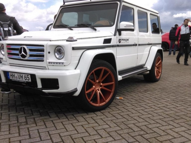 Mercedes G63 AMG Prior Design