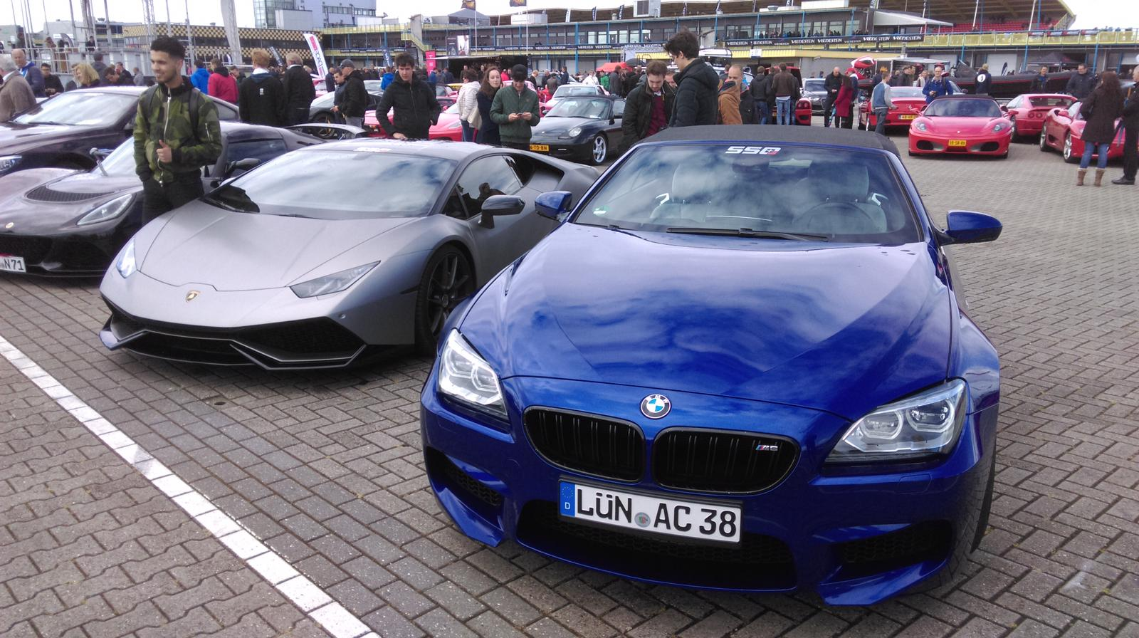 Lamborghini Huracan and BMW M6