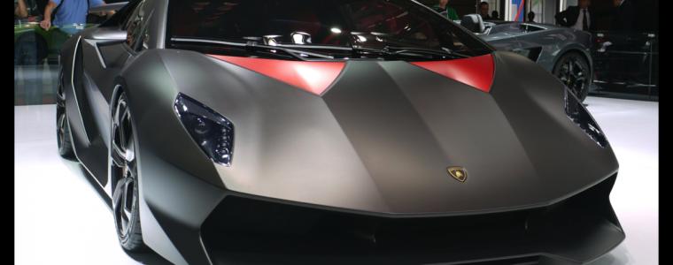 Lamborghini Sesto Elemento – Carbon Fiber Raket