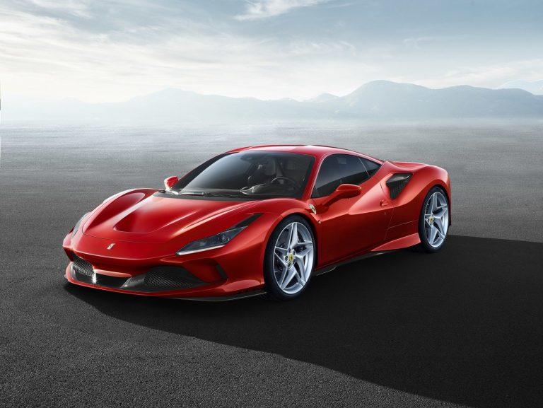 Ferrari F8 Tributo [front-side]
