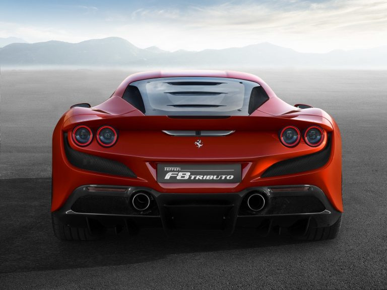 Ferrari F8 Tributo [back]